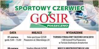 Sportowy czerwiec z GOSiR Piaseczno