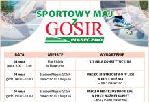 Sportowy maj z GOSiR Piaseczno