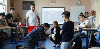 Szkolenie w Szkole Podstawowej w Jazgarzewie