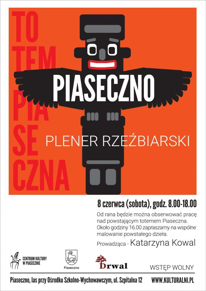 TOTEM PIASECZNA - PLENER RZEŹBIARSKI