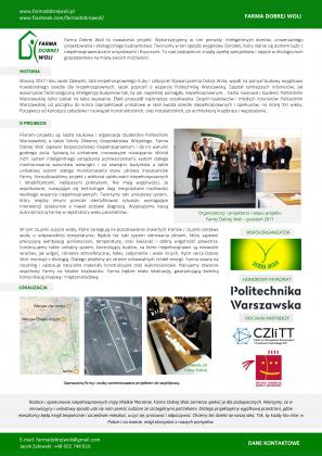 Wolpreza - festiwal wolontariuszy - Farma Dobrej Woli