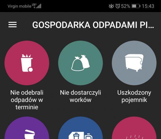 Zgłoszenia o odpadach w Mobile Alert