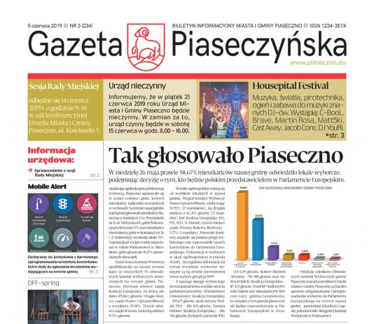 Gazeta Piaseczyńska nr 3/2019