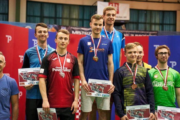 Adam Szolc Vice Mistrz Polski gra podwójna