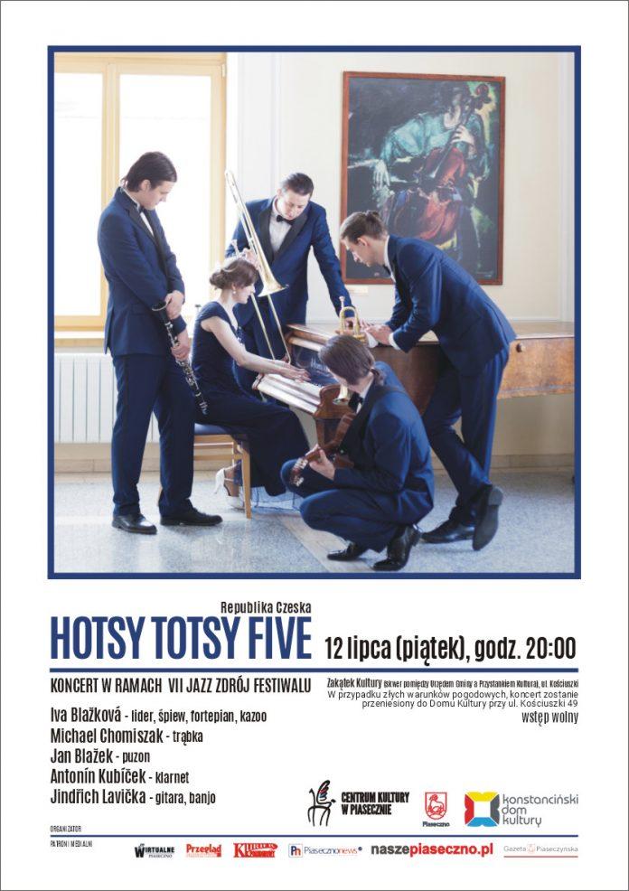 Hotsy Totsy Five - VII Jazz Zdrój Festiwal w Zakątku Kultury