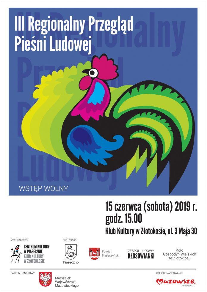III Regionalny Przegląd Pieśni Ludowej w Złotokłosie
