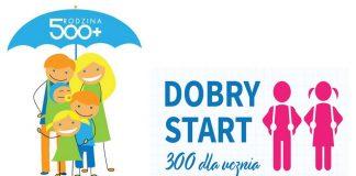 Program Rodzina 500+ oraz Dobry Start