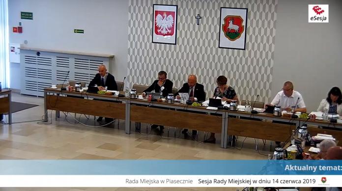 XI sesja Rady Miejskiej w Piasecznie