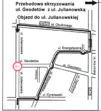 Julianowska objazdy