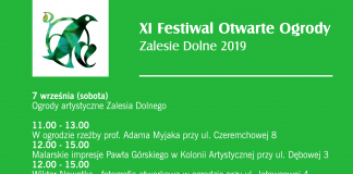 Festiwal Otwarte Ogrody w Zalesiu Dolnym