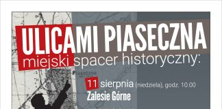 Ulicami Piaseczna spacer historyczny