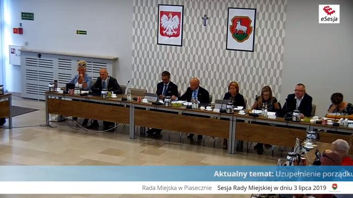 XII sesja Rady Miejskiej w Piasecznie