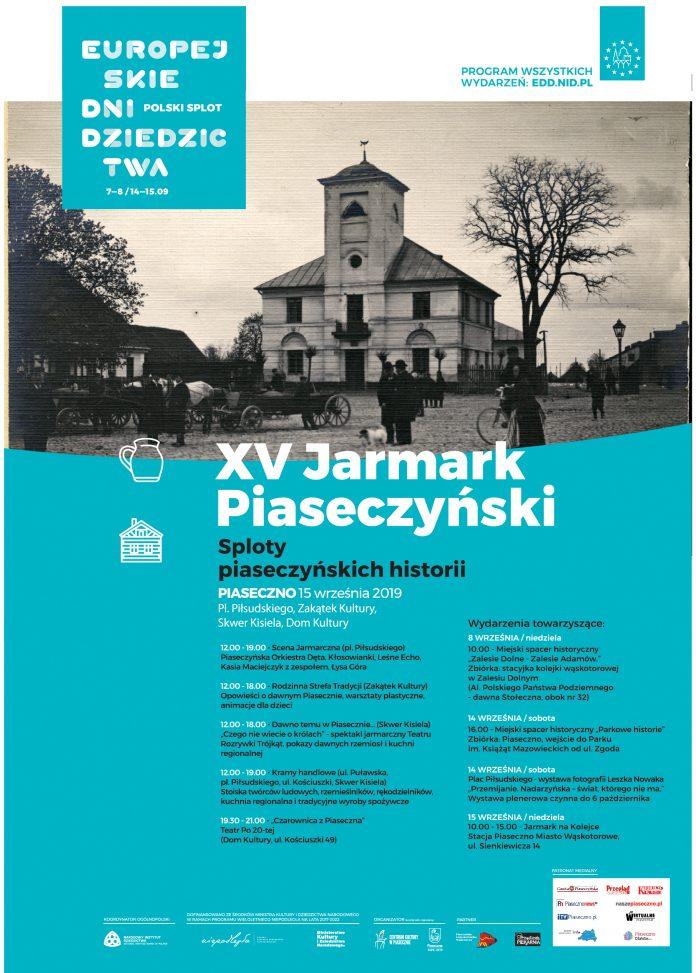XV JARMARK PIASECZYŃSKI. SPLOT PIASECZYŃSKICH HISTORII