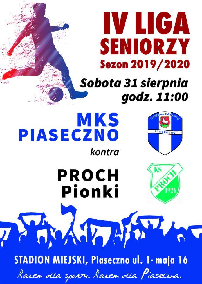 Mecz MKS Piaseczno kontra Proch Pionki