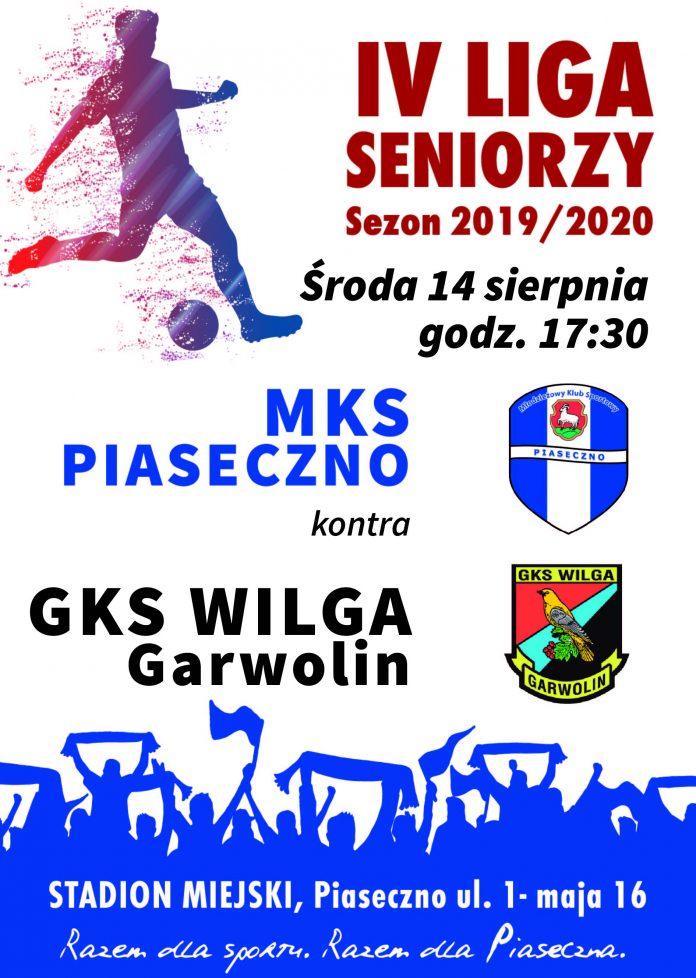 Plakat meczowy