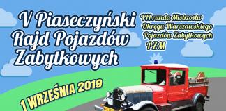 V Piaseczyński Rajd Pojazdów Zabytkowych