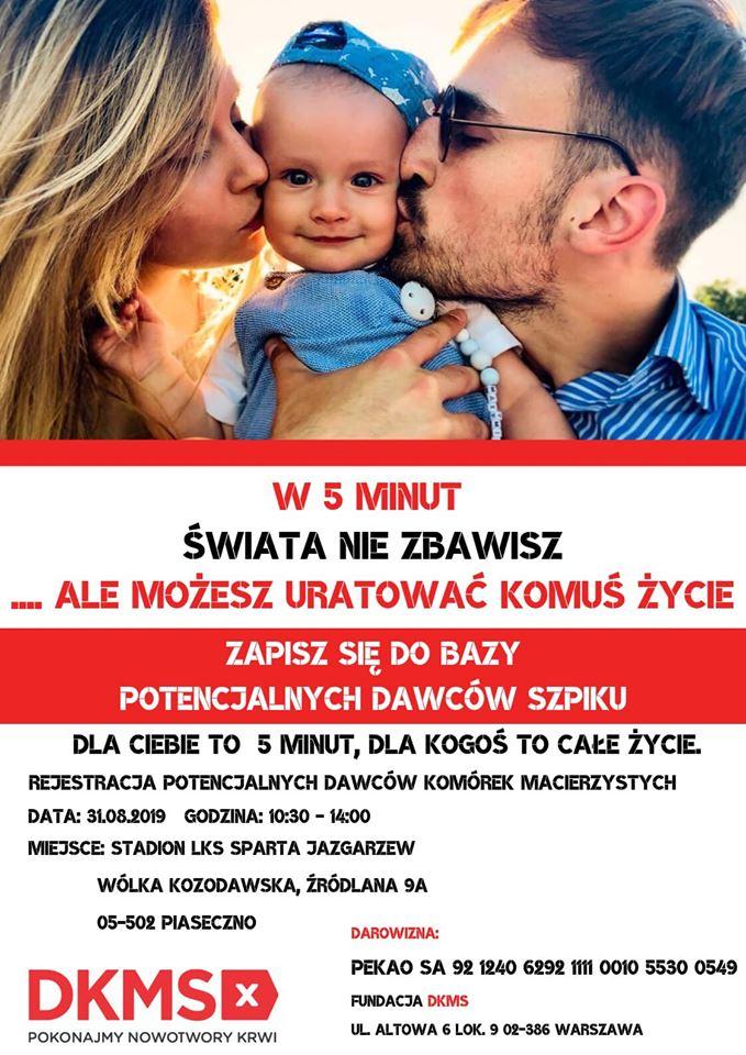 Akcja pomocy dla Maxa Jaskólskiego