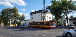 Autobus 709 przy PKP Piaseczno