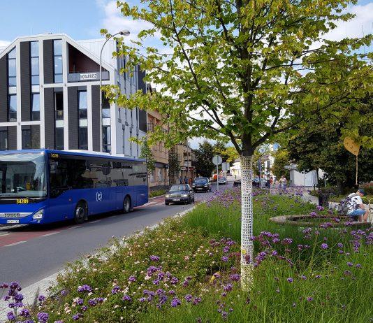 Autobus linii L - eLka w Piasecznie