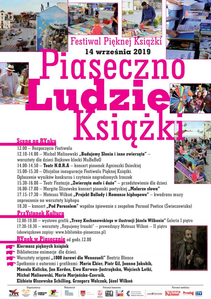 Festiwal Pięknej Książki Piaseczno - Ludzie - Książki