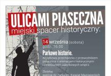 Parkowe historie - spacer z przewodnikiem Ulicami Piaseczna