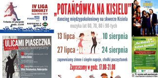 Weekend w Piasecznie 23-25 sierpnia