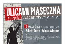 Zalesie Dolne Zalesie Adamów - spacer z przewodnikiem Ulicami Piaseczna