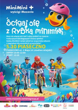 MiniMini podczas Cisowianka Mazovia MTB Marathon Piaseczno 2019