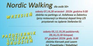 Bezpłatne zajęcia Nordic Walking dla osób 50+