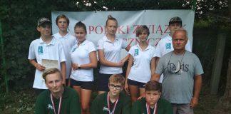 Stempniewski, Jakub Kultys, trener Paweł Soliński foto archiwu KS Hubertus