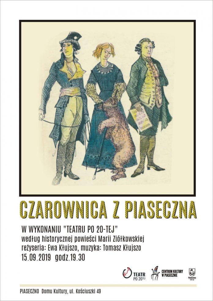 Czarownica z Piaseczna w wykonaniu Teatru Po 20-tej w ramach Jarmarku Piaseczyńskiego