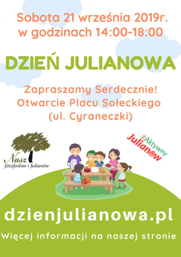 Dzień Julianowa - inauguracyjne otwarcie placu sołeckiego Julianowa