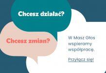 Grafika promocyjna projektu Masz Głos