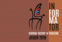 Jesień 2019 - informator wydarzeń kulturalnych Centrum Kultury