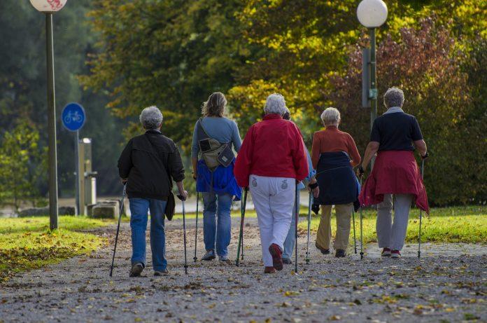 Nordic Walking dla osób 50+ foto pixabay.com