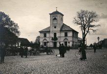 Rynek z Ratuszem w Piasecznie