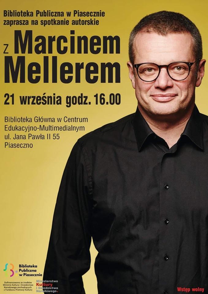 Spotkanie z Marcinem Mellerem w Bibliotece CEM Piaseczno