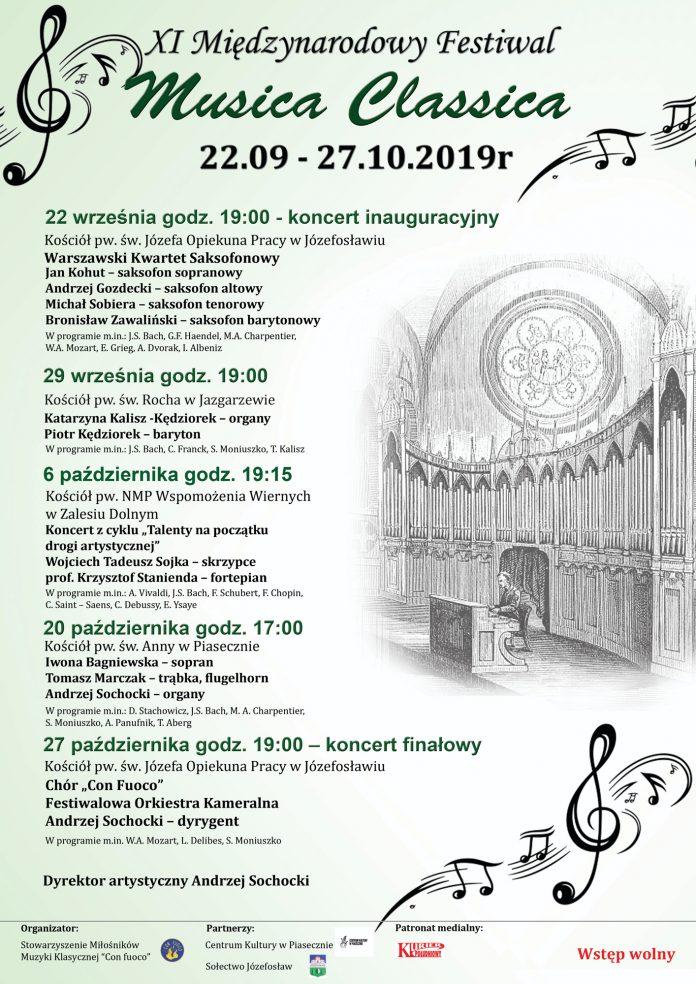 XI Festiwal Musica Classica 2019