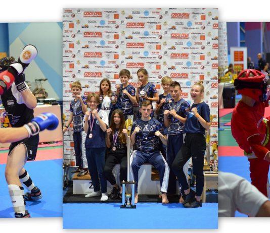 13 medali na międzynarodowym turnieju kickboxingu Czech Open