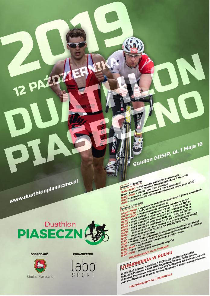 Duathlon Piaseczno 2019