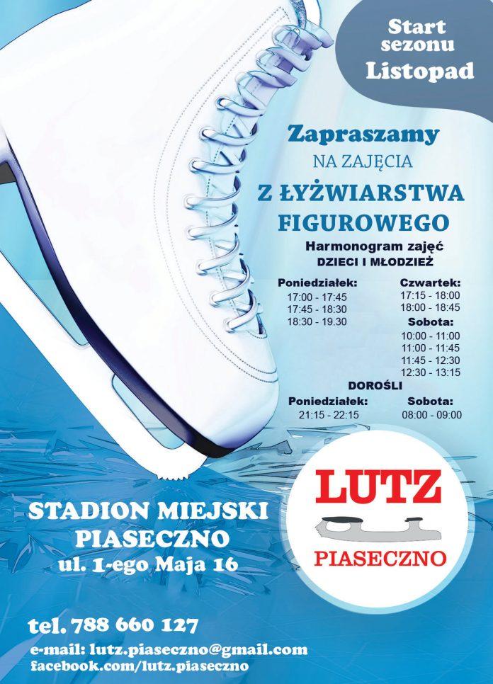 Rozpoczęcie sezonu łyżwiarskiego na lodowisku w Piasecznie