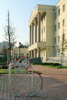 Stojaki na rowery z Budżetu Obywatelskiego Piaseczna