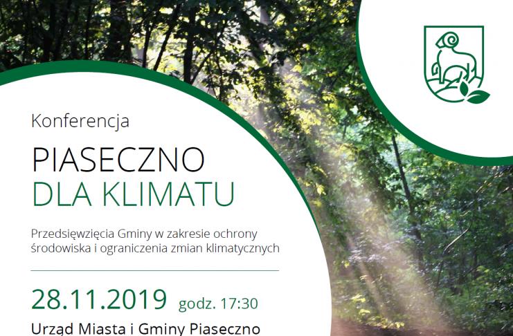 Piaseczno dla klimatu zaproszenie