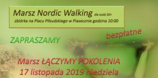 Marsz plakat Nordic listopad 2019