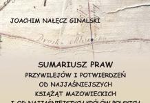 Sumariusz Praw i Przywilejów