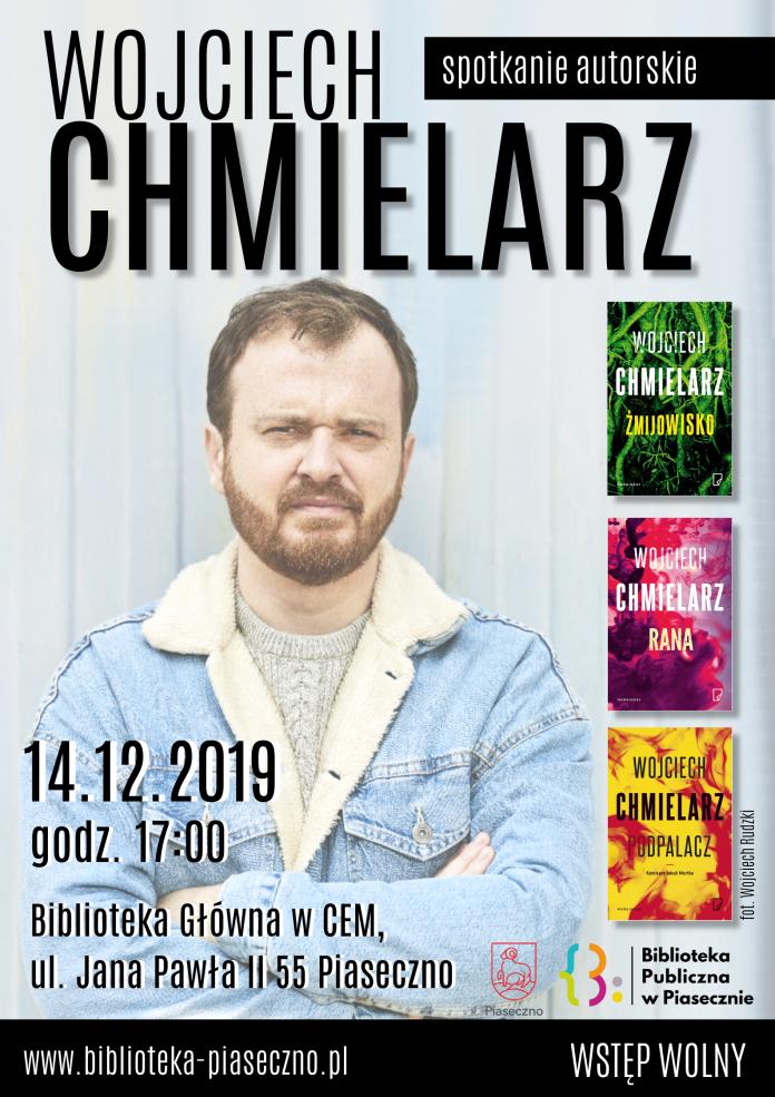 Wojciech Chmielarz - plakat