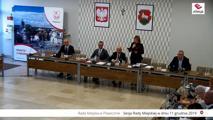 17. sesja Rady Miejskiej w Piasecznie