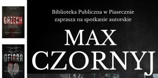 Spotkanie autorskie z Maxem Czornyjem