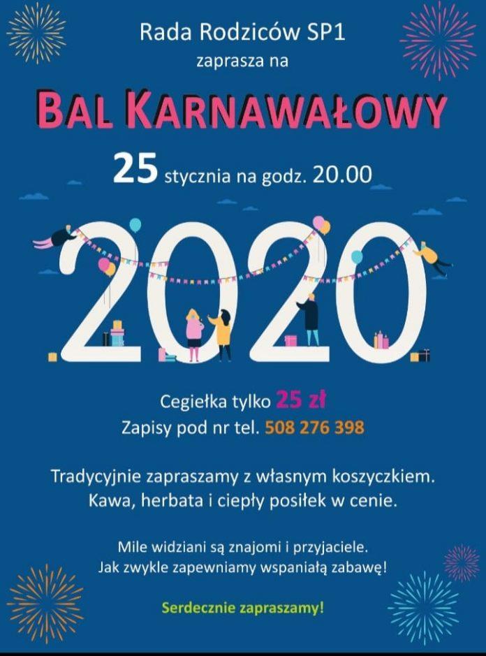 Bal Karnawałowy w Szkoły Podstawowej nr 1 w Piasecznie