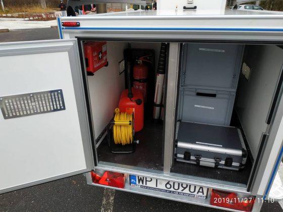 Mobilne centrum jakości powietrza w Straży Miejskiej
